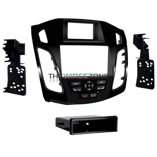 Metra 99-5827HG Single/Double DIN Dash Kit w/ High Gloss Vent for Ford