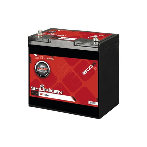 Shuriken SK-BT16V 1800W 80AH High Performance Competition 16V Battery (3838980751424)