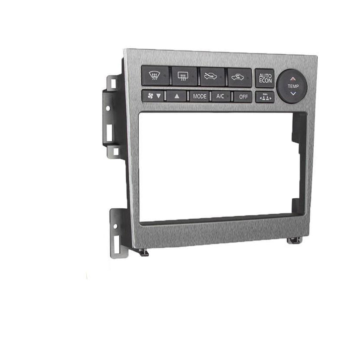 Metra 95-7605A Double DIN Dash Kit for Select 2005-2007 Infiniti G35 (3838984060992)