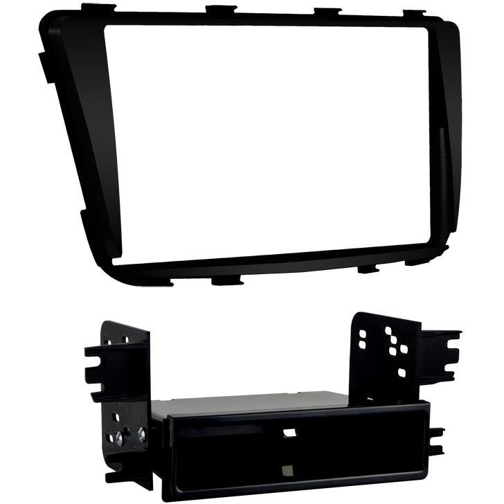 Metra 99-7347B Single/Double DIN Dash Kit for 2012-up Hyundai Accent (3838984552512)