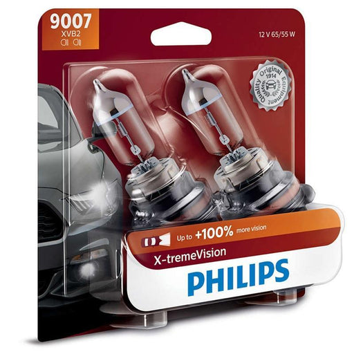Philips 9007 HB5 X-treme Vision 65/55W Halogen Headlight 3400k (pair) (3838984847424)