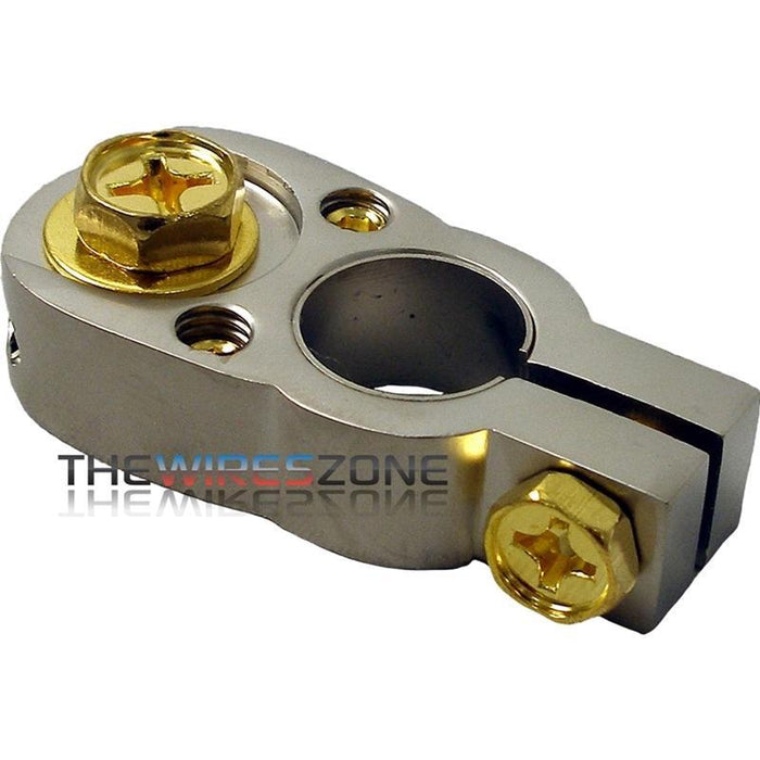 The Wires Zone BT2G Positive or Negative 2/8 Gauge Battery Terminal