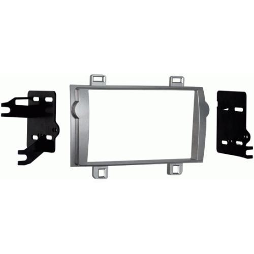 Metra 95-8237S Silver Double DIN Dash Kit for 2011-2012 Toyota Matrix (3838987436096)