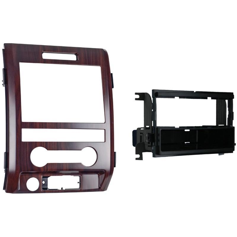 Metra 99-5820CB Cocobolo Single DIN Dash Kit for Select Ford F-150 (3838987894848)