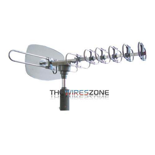 Supersonic SC-609 HDTV Digital Amplified TV Motorized Rotating Antenna (3838999330880)
