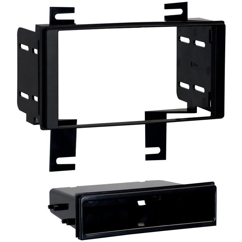 Metra 99-7616 Single/Double DIN Dash Kit for Select 12-up Nissan Rogue (3839003459648)
