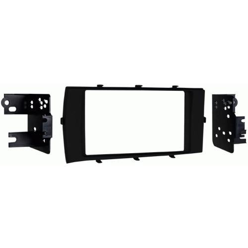 Metra 95-8239B Black Double DIN Dash Kit for 2012-up Toyota Prius C (3839004246080)