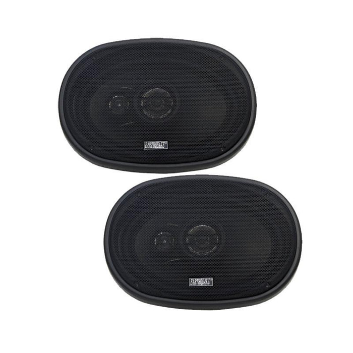"Earthquake Sound T693X 3-Way 6"" x 9"" 600W Coaxial Car Speaker (pair) (3839007326272)"