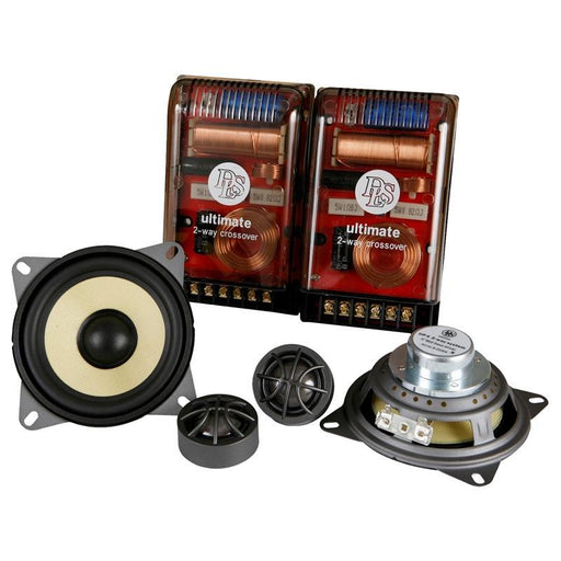 "DLS UP4 Ultimate Series 2-Way 4"" 160W Component Speaker System (pair) (3839011127360)"