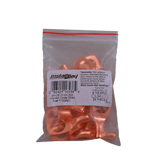 "The Install Bay CUR838 Copper 8 Gauge 3/8"" Ring Terminal (25/pack) (3839011651648)"