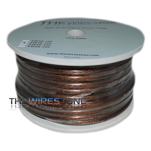 TWZ PW4B-100 High Performance Black 4 Gauge 100 Feet Power Cable (3839014699072)
