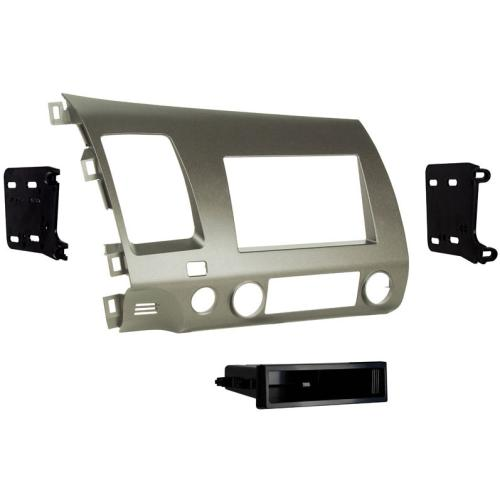 Metra 99-7871T Taupe Single/Double DIN Dash Kit for 06-11 Honda Civic