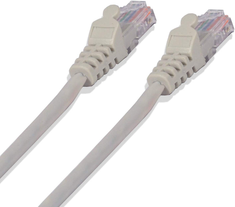 CAT5e 24 Gauge Gray 1-100 Feet 350Mhz UTP Patch Ethernet Network Cable (3839772491840)