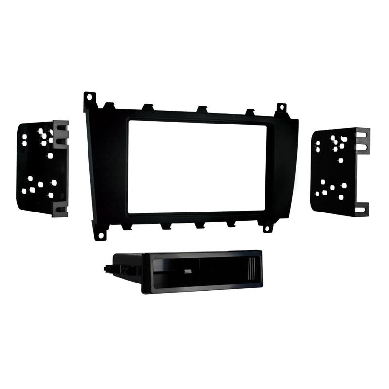 Metra 99-8721B Black 1-DIN Dash Kit for Select Mercedes-Benz C-Class (3839073321024)