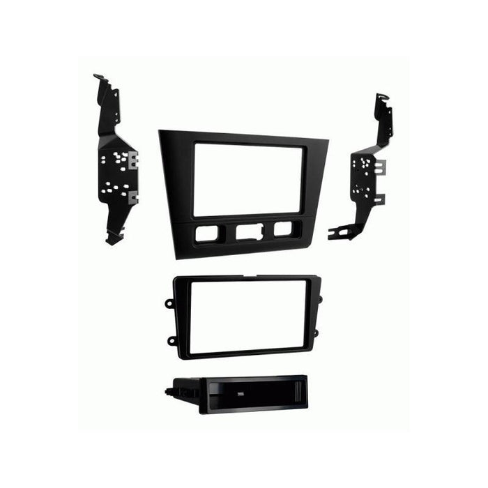 Metra 99-7806B Black Single/Double DIN Dash Kit for Select Acura RL (3839090327616)