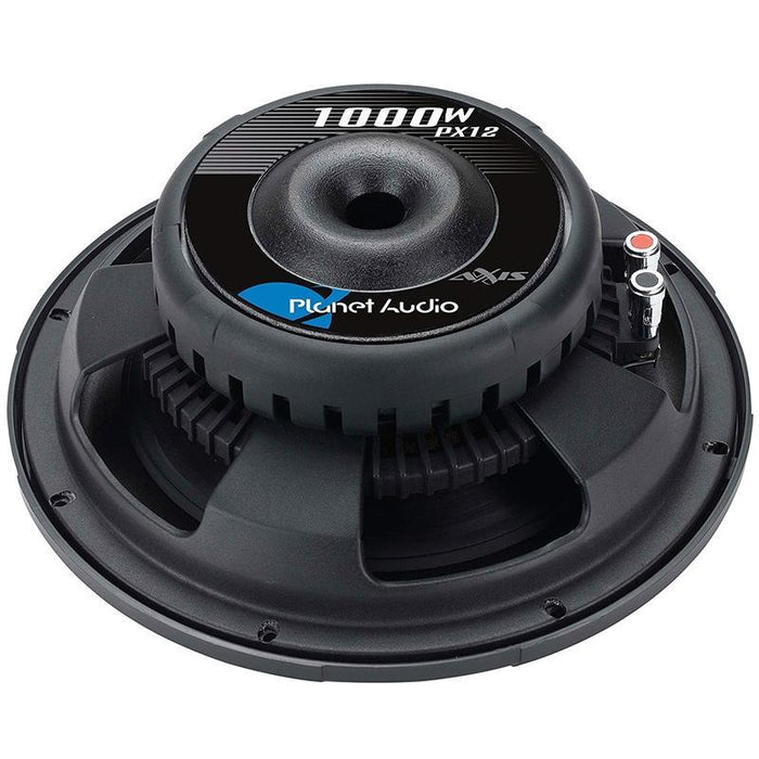 "Planet Audio PX12 12"" 1000W Single Voice Coil Shallow Car Subwoofer (3839102091328)"