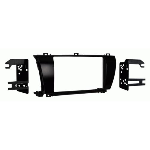 Metra 95-8237S Silver Double DIN Stereo Dash Kit for 2011-2012 Toyota Matrix