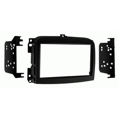 Metra 95-6521B Double DIN Stereo Install Dash Kit for 14-up Fiat 500L (3839104614464)