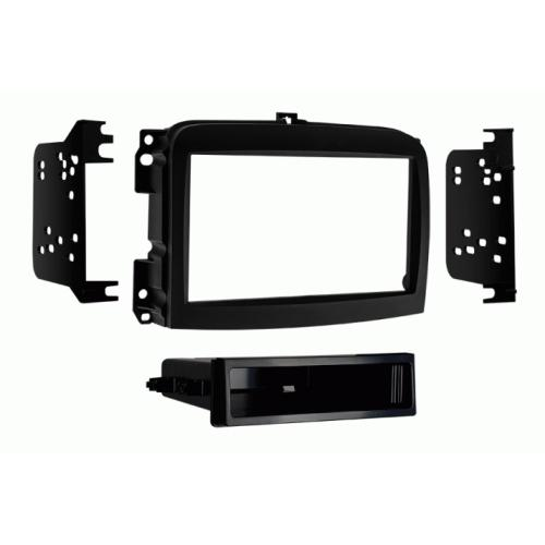 Metra 99-6521B Single DIN Stereo Install Dash Kit for 14-up Fiat 500L (3839104712768)