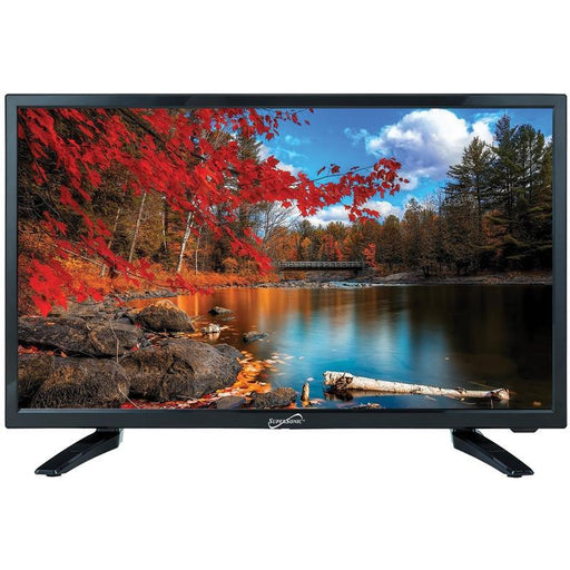 "Supersonic SC-2211 Black HDMI USB 1080p 22"" LED Widescreen HDTV"