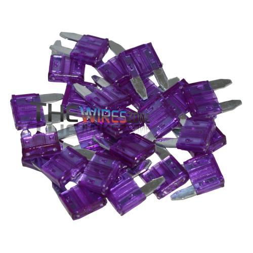 The Install Bay ATM3-25 Top Grade 3 Amp Mini ATM Type Fuse (25/pack) (3839109922880)