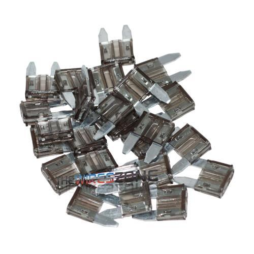 The Install Bay ATM2-25 Nickel Plated 2 Amp Mini ATM Fuse (25/pack) (3839126962240)