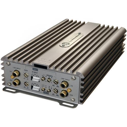 DLS Reference CC4 4-Channel AB Class 280W RMS Compact SQ Car Amplifier (3839130370112)