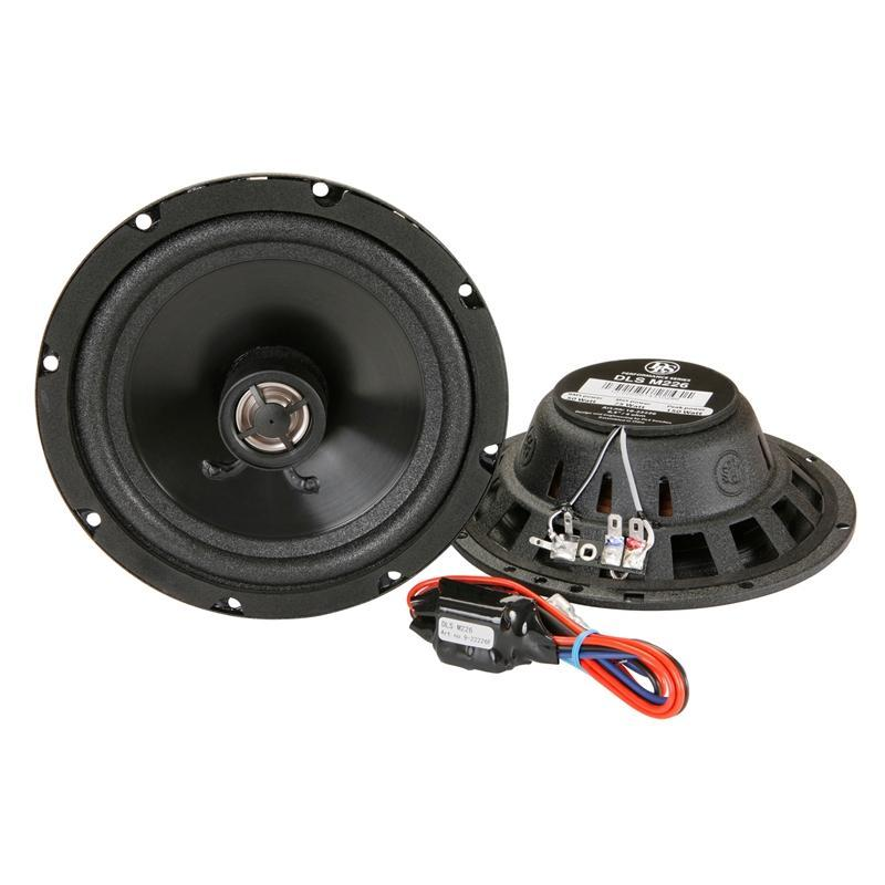 "DLS M226 Performance Series 2-Way 6.5"" 150W Coaxial Car Speaker (pair) (3839130828864)"
