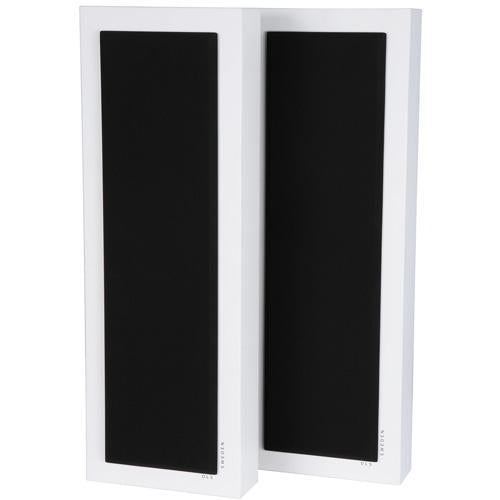 DLS FlatBox XL White 2-Way Bass Reflex On Wall Home Speaker (pair) (3839136464960)