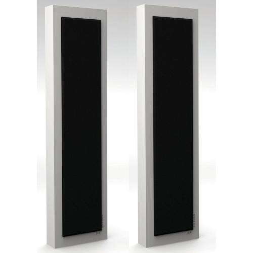 DLS FlatBox XXL White 2.5-Way Bass Reflex On Wall Home Speaker (pair) (3839136628800)