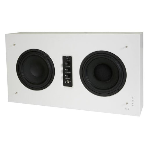 DLS Flatsub Stereo-One White Bluetooth 2.1 Active Subwoofer System (3839138103360)