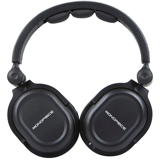 Monoprice 8323 Premium Hi-Fi Over the Ear DJ Style Pro Headphones (3839139414080)