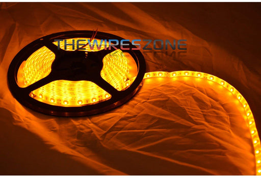 12 Volt DC Super Bright Blue or Yellow SMD LED 5 Meter Flexible Strip Light (3839154290752)