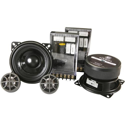 "DLS RC4.2 2-Way 4"" 200 Watt Car Audio Component Speaker System (pair) (3839156453440)"