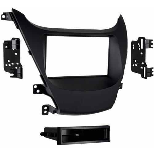Metra 99-7362B Black Single DIN Dash Kit for 2014-up Hyundai Elantra (3839158747200)