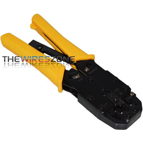 490160 Modular Plug Crimper/Stripper Tool for Networking & Telephone (3839161008192)