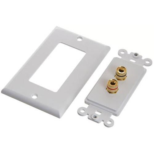 Ethereal IHT-BNDPSTX2 Banana Binding Post Wall Plate for One Speaker (3839195316288)