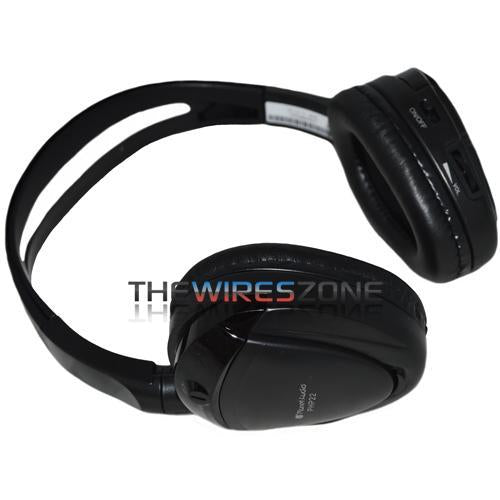 Planet Audio PHP22 Black Single Channel Infrared Wireless Headphones (3839195349056)