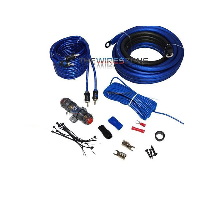 Raptor R4AK4 Mid Series 950 Watts 4 Gauge Amplifier Kit with RCA Cable (3839199739968)