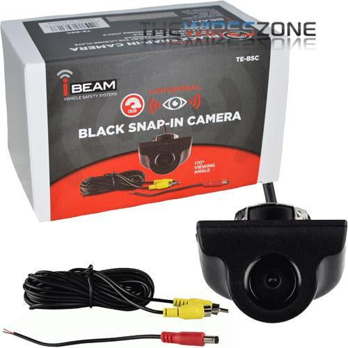 iBeam TE-BSC Universal 170 Degree Angle Backup Reverse Snap-in Camera (3839201706048)