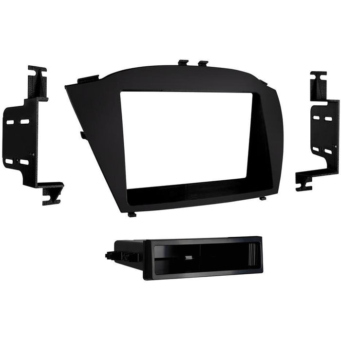 Metra 99-7364B Black Single DIN Dash Kit for Select Hyundai Tucson (3839219171392)