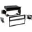 Metra 99-7610B Black Single/Double DIN Dash Kit for Select Nissan (3839230935104)