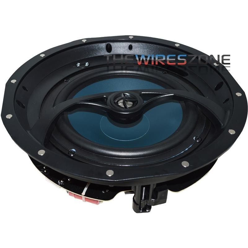 "The Wires Zone K201 2-Way 8 Ohms 8"" In-Ceiling Home Speaker (pair) (3839236210752)"