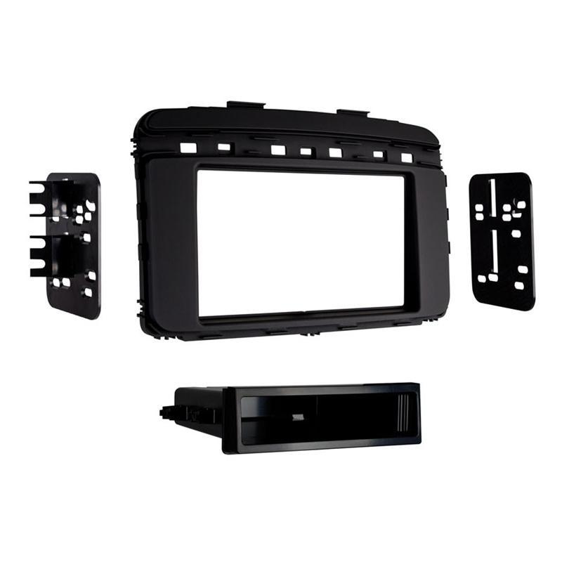 Metra 99-7366B Black Single DIN Dash Kit for 2016-up Kia Sorento (3839262556224)