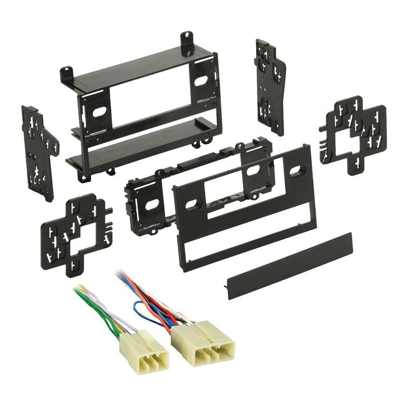 Metra 99-8100 Single/Double DIN Dash Kit + Harness for Select Toyota (3839263670336)