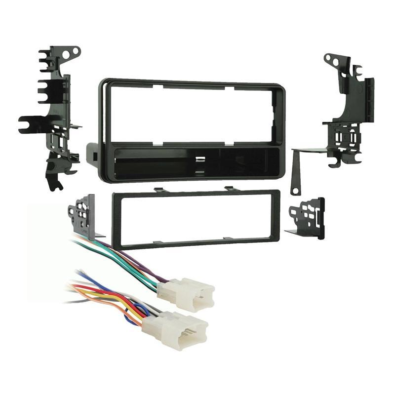 Metra 99-8202 Single DIN Dash Kit + Harness for Select 2000-05 Toyota (3839265636416)