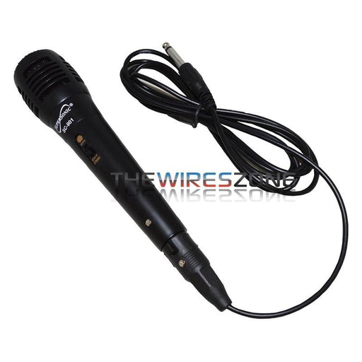 Supersonic SC-901 ProVoice Black Dynamic Vocal Professional Microphone (3839267012672)