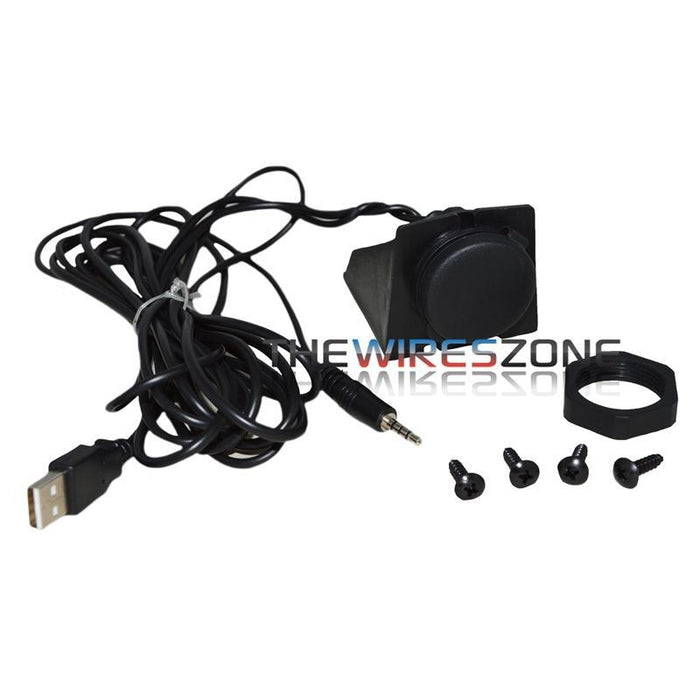 MM35-USB Car Stereo Dash Mount 6 ft iPod to USB/3.5mm Extension Cable (3839268159552)