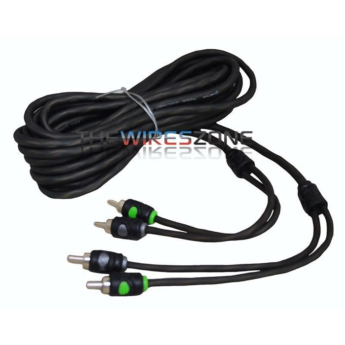 Raptor R5RCA14 Pro Series 14 Feet Dual Twist 2-Channel RCA Cable (3839292014656)