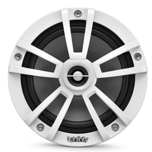 "Infinity 822MLW Reference Series 8"" 2-way Coaxial Speakers with Built-in LED Lights"